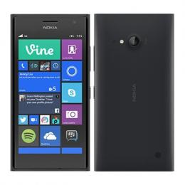 Nokia Lumia 735 (Black) Windows Phone 8.1 SIM-unlocked