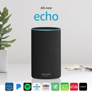 Amazon Echo (2nd gen) Alexa Personal Assistant Bluetooth Speaker [Chacoal Fablic]